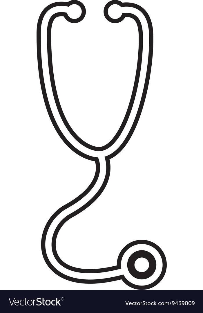 Stethoscope isolated icon design vector