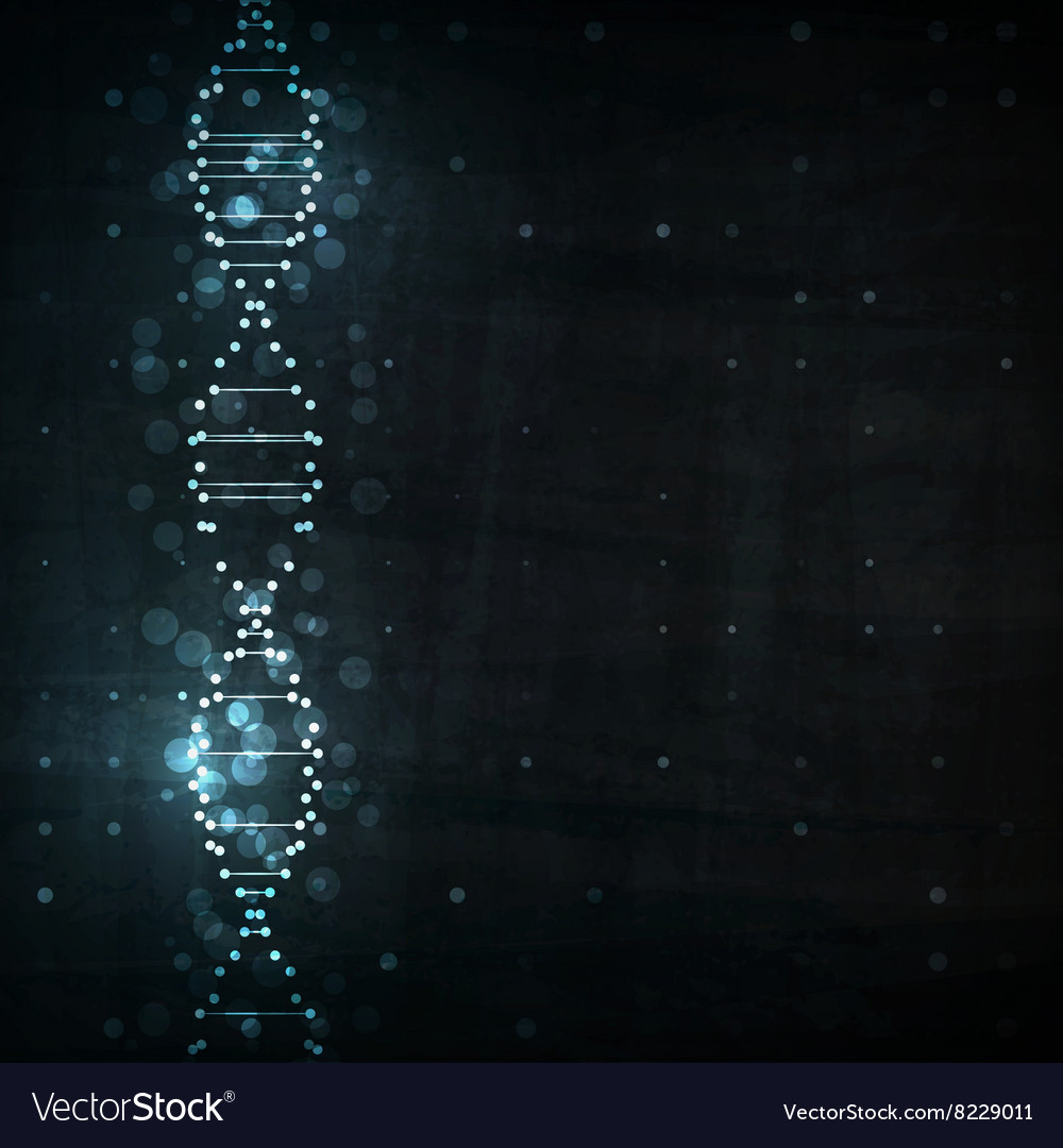 Futuristic dna vector