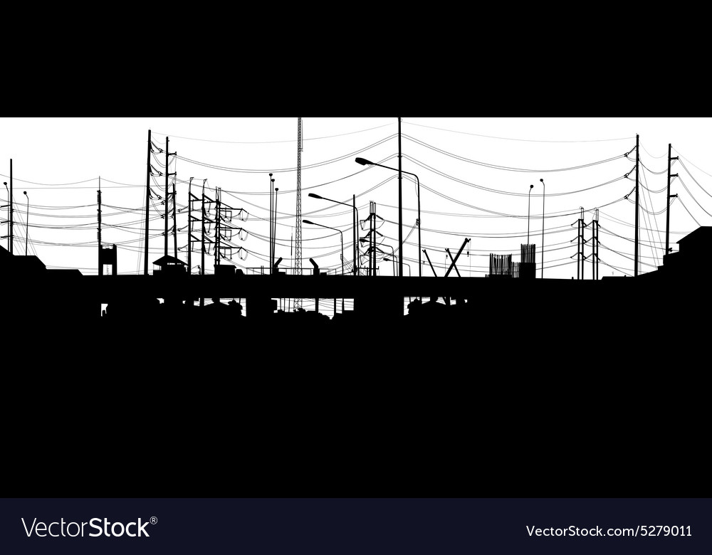 Urban foreground vector
