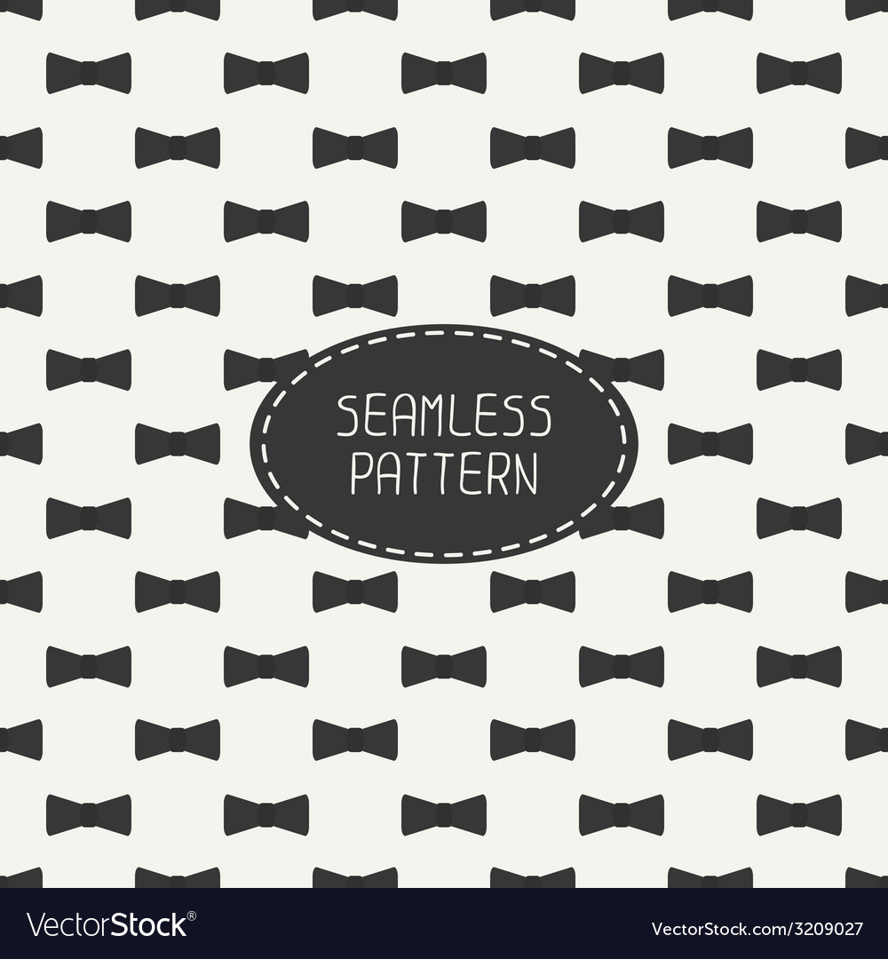 Seamless retro pattern with vintage hipster vector