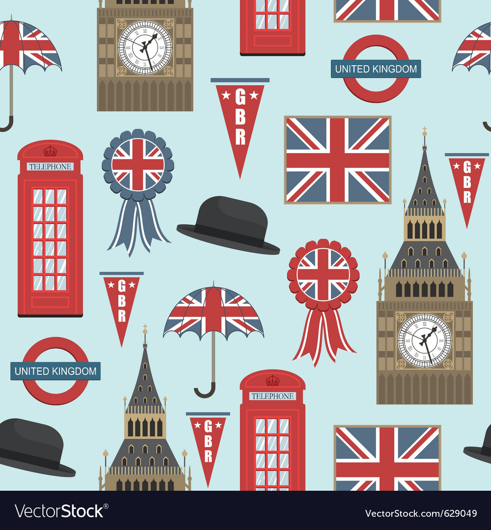 Uk pattern vector