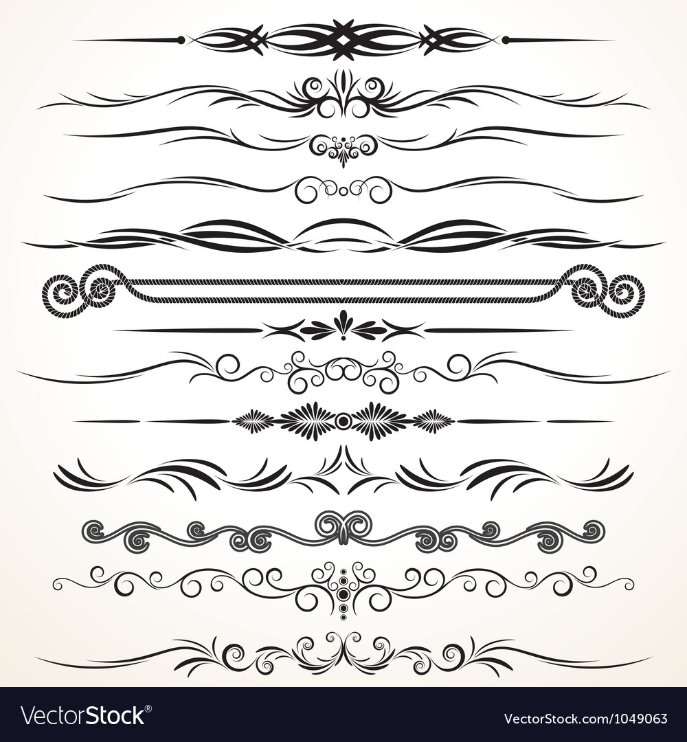 Ornament design vector