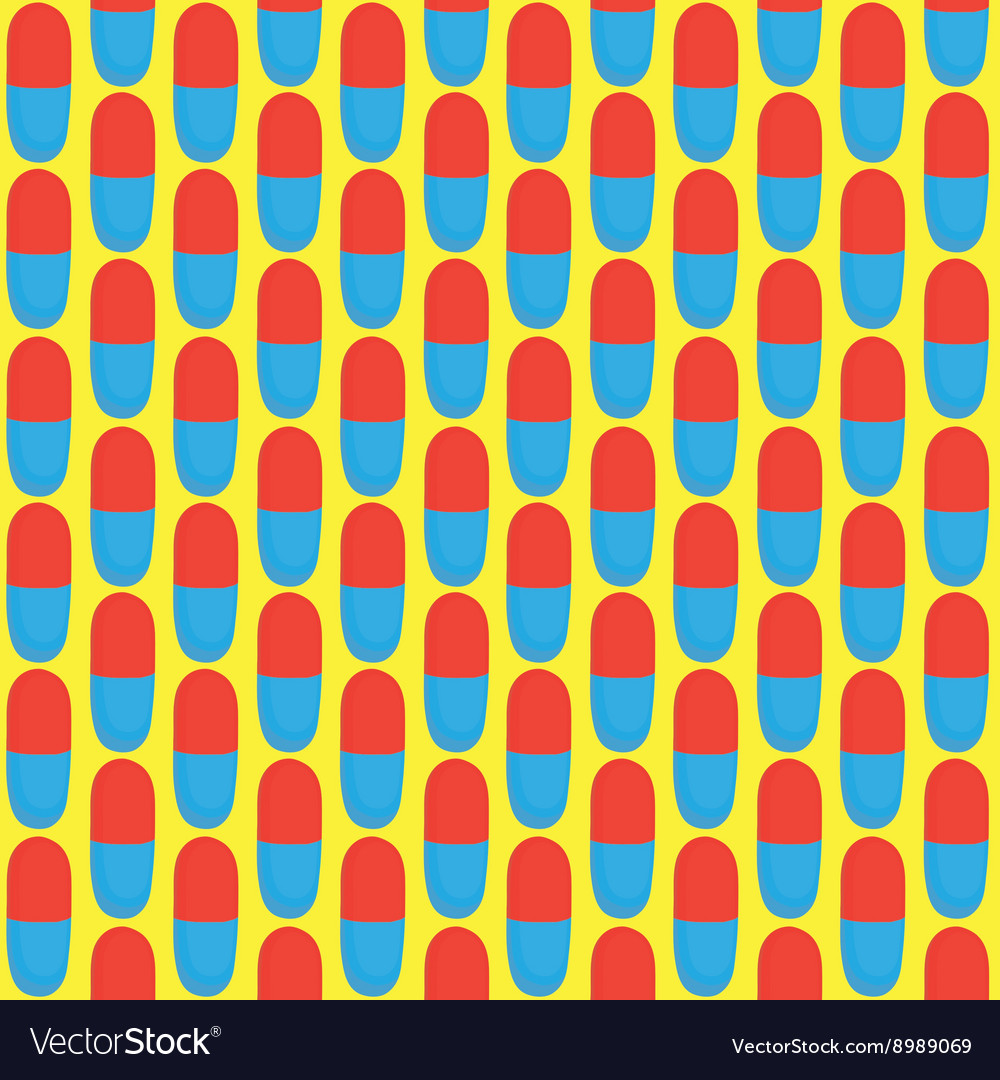 Pills pattern vector