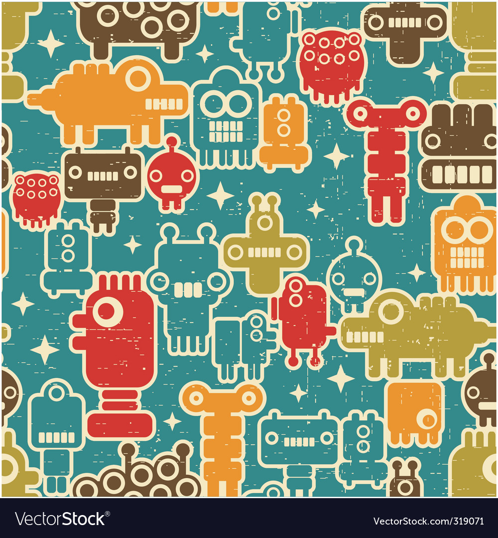 Robot pattern vector