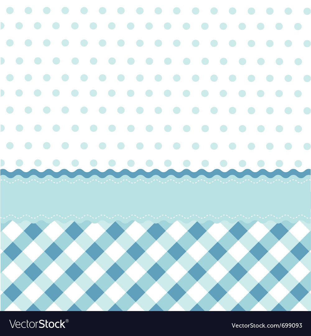 Seamless baby pattern wallpaper vector