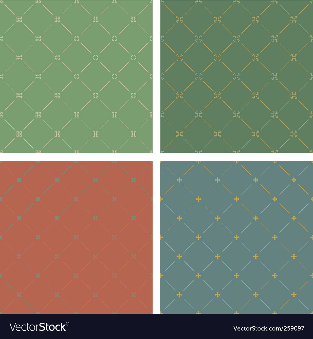Four backgrounds vector