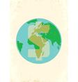 Earth money vector image