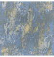 abstract seamless texture of blue rusted metal vector image vector image