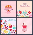 Set Beautiful Banners with Traditional Elements vector image