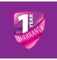 logo 10 years warranty vector image