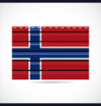 Norway siding produce company icon vector image