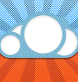 Abstract cloud vector image