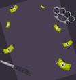 Mafia background vector image