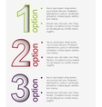 color chat boxes in steps vector image