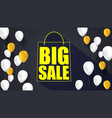 big sale text banner ready to print and use in vector image