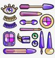 eye cosmetic icon vector image vector image
