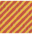 Red yellow hazard lines vector image
