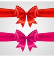 holiday bows vector image