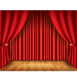 object curtain vector image