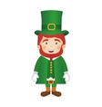 leprechaun st patricks icon image vector image