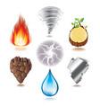 set elements vector image