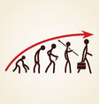 Evolution success concept Vector Image