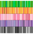 strips pattern five vector image