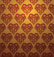 Love Ornamental Pattern vector image