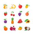 natural food - modern line icons set vector image