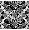 Design seamless monochrome twirl pattern vector image