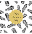 pattern valentine s day vector image