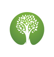 Family Tree Logo vector image