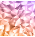 Crystal colorful background vector image vector image
