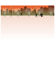 Park Cityscape View vector image vector image