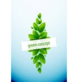 Nature tree background vector image vector image