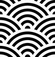 Japanese wave pattern vector image