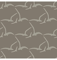 Gull seamless pattern vector image