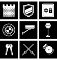 security icon vector image