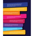 brochure design templates collection vector image