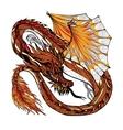 Dragon Sketch Color vector image