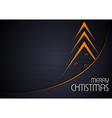 Tech Christmas Greeting vector image