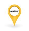 Location Bangkok vector image