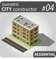 Isometric city constructor - 04 vector image