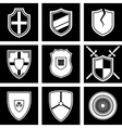 shields icon vector image