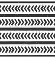 hand drawn black and white seamless pattern vector image