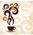 Coffee Time Vintage vector image vector image