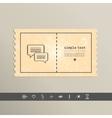 Simple pixel icon dialog messages design vector image