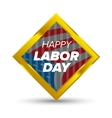 Labor day icon vector image