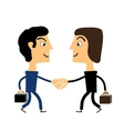 negotiations vector image