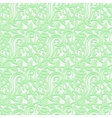 Seamless texture with leafs in the gentle shades vector image